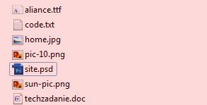 Не правильное расположение файлов проекта
