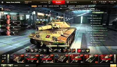 Стрим в World of tanks